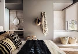 salle de bain dans une chambre pour ou contre la salle de bains dans la chambre décoration