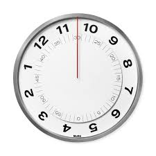 Design Clock by Dial Wall Clock Moma Design Store