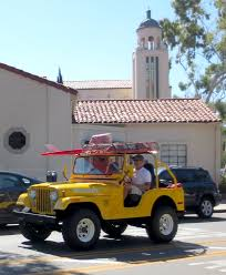 vintage jeep laguna beach local news vintage lifeguard unit hits the streets