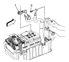 2011 cadillac srx manual repair battery positive and negative cable