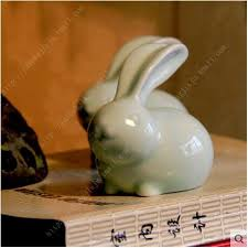 Bunny Rabbit Home Decor Compare Prices On Porcelain White Rabbit Bunny Online Shopping