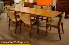 Mid Century Dining Table And Chairs Mid Century Dining Room Table Image Of Awesome Mid Century Modern
