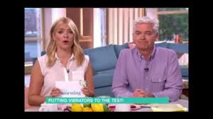 lucy and anna decinque holly willoughby and phillip schofield blasted over toy