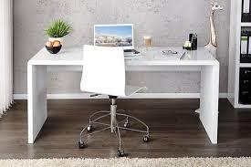 bureau blanc laqué exquis bureau blanc design elegance laque xl beraue console angle