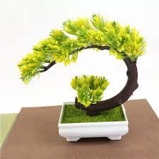 plante pour chambre 1 pcs top vente plante artificielle soie fleur croissant lune