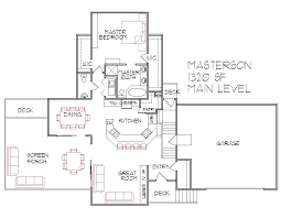 Split Level Basement Ideas - crafty 1300 sq ft house plans with basement straightline design