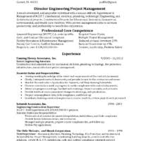 Resume Core Competencies Examples by Helpful Director Engineering Project Manager Resume Template With