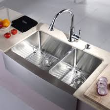 33 inch farm sink best of both worlds farm sink style with stainless kraus 33 inch
