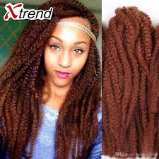 Color Extensions For Hair by Wholesale Cheapest Afro Curly Twist Braiding Hair Jumbo