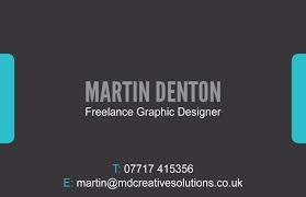 back business card md creative business card md creative solutions