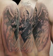 custom guardian angel tattoo miguel angel custom tattoo ar u2026 flickr