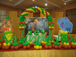 jungle themed birthday party jungle theme birthday party planner in indirapuram birthday
