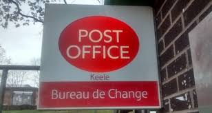 bureau de changes keele post office closure threat newcastle lyme labour