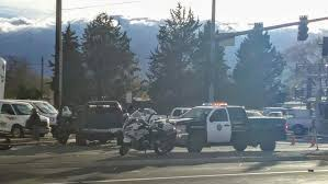 1 person transported after car crashes into pole in east reno krnv