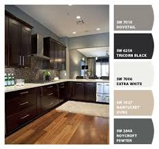what paint color looks with espresso cabinets i just spotted the colors easy kitchen updates