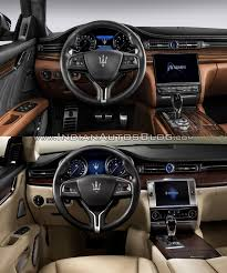 maserati models interior maserati quattroporte old vs new
