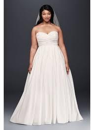 empire waist plus size wedding dress faille empire waist plus size wedding dress david s bridal