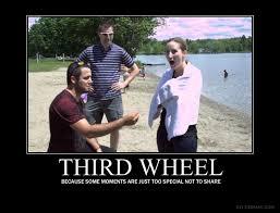 Third Wheel Meme - third wheel motion you matter most third wheel motion