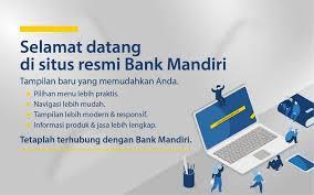 Bank Mandiri Bank Mandiri Terdepan Terpercaya Tumbuh Bersama Anda Bank