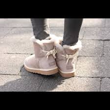 womens ugg selene mini boot 54 ugg shoes s ugg selene oyster taupe bootie boots