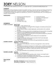 Supervisor Job Resume by Customer Service Supervisor Resume Berathen Com