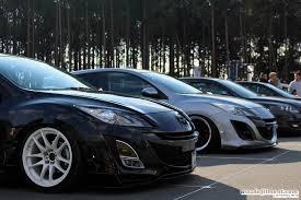stanced car meet car show u2013 mazda fitment