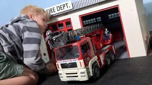 bruder fire truck bruder fire trucks mission possible bruder toy trucls for children