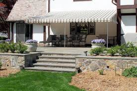 Deck Awning Stationary Patio Awnings Westchester County Ny Fixed Deck Awnings
