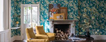 interior wallpaper for home farrow craftsmen in paint and paper farrow