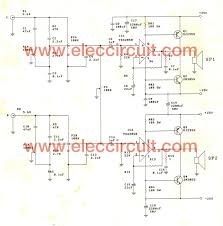 2 1 home theater circuit diagram tda2050 amplifier stereo 35w 75w