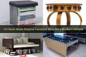 Multipurpose Furniture 10 Clever Multi Purpose Furniture Ideas Meeting The Needs Of A