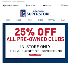 pga superstore black friday 5 holiday email marketing ideas for online stores chargeback