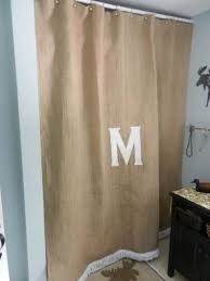 Burlap Shower Curtains Burlap Shower Curtains For Sale Curtain Gallery Images