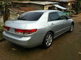 super clean tokunbo v6 2003 honda accord full option eod 1 6