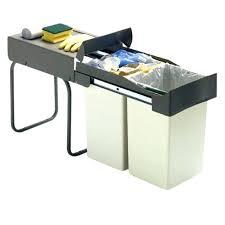 poubelle cuisine tri poubelle cuisine coulissante sous evier affordable poubelle tri