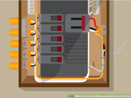 how to install an electrical outlet from scratch with pictures