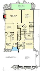 Narrow Home Floor Plans by 7 Best Split Level Home Plans Images On Pinterest Home Plans