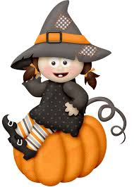halloween clipart creation kit pumpkin witch quenalbertini lliella boo chelo bega witch