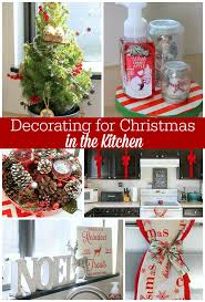 Kitchen Christmas Tree Ideas Christmas Decor For Your Kitchen Occasionally Crafty Christmas