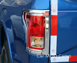 2015 ford f150 tail lights for ford f150 2015 2016 2017 abs chrome rear tail light l cover