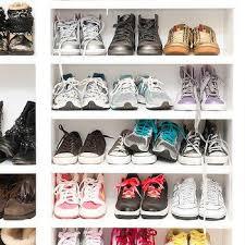 Shelves For Shoes by Built In Closet Shoe Shelves Design Ideas