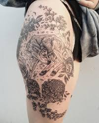 flowers on thigh great thigh pictures part 37 tattooimages biz