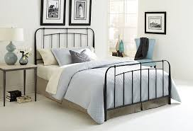 black metal king size bed frame style different ideas black