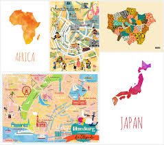 World Map Posters by Map Geek Tips For Adding Personality To Your Rented Home