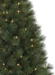 potted white pine artificial tree