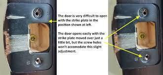 door repair how to fix a door that doesn u0027t latch structure tech