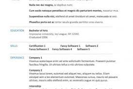 free resume template word processor classy resume template for word processor in free resume templates