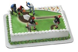 baseball cake toppers on and the field sports team party supplies uniforms