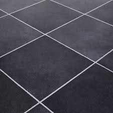mardi gras 598 durango black stone tile vinyl flooring bathroom