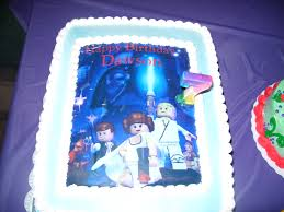 wars edible image lego wars edible image custom birthday cake sweet